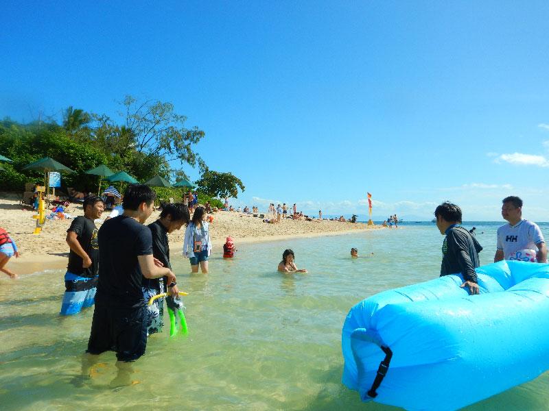 グリーン島で海を満喫!ーケアンズへ社員旅行3日目